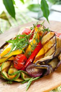 Овощи на гриле и мангале