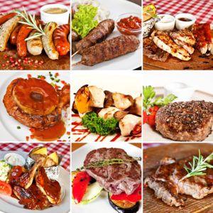 Блюда, приготовленные на гриле и мангале