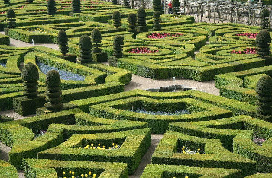 Французский огород - часть ландшафтного и паркового искусства