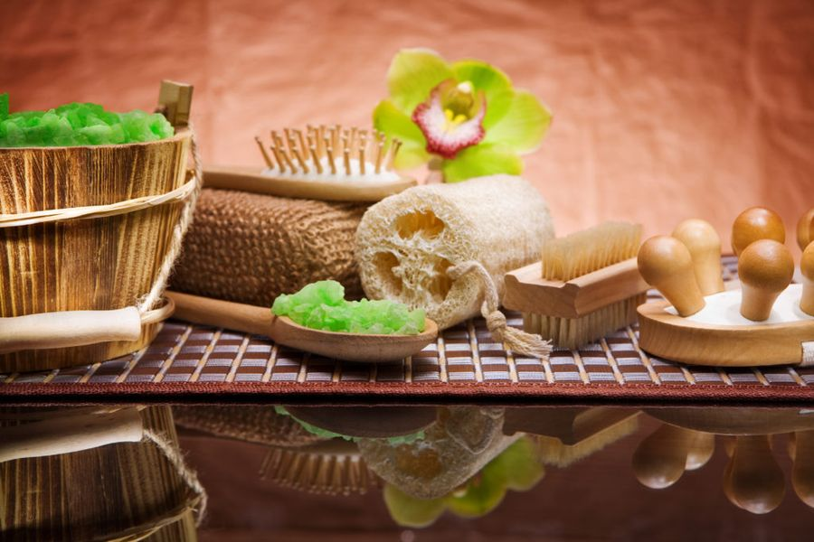 Мочалка из люффы - наиболее востребованный продукт