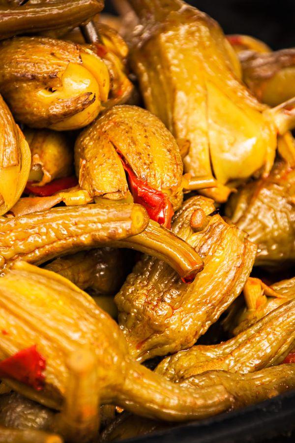 Баклажаны, фаршированные овощами, станут любимым блюдом