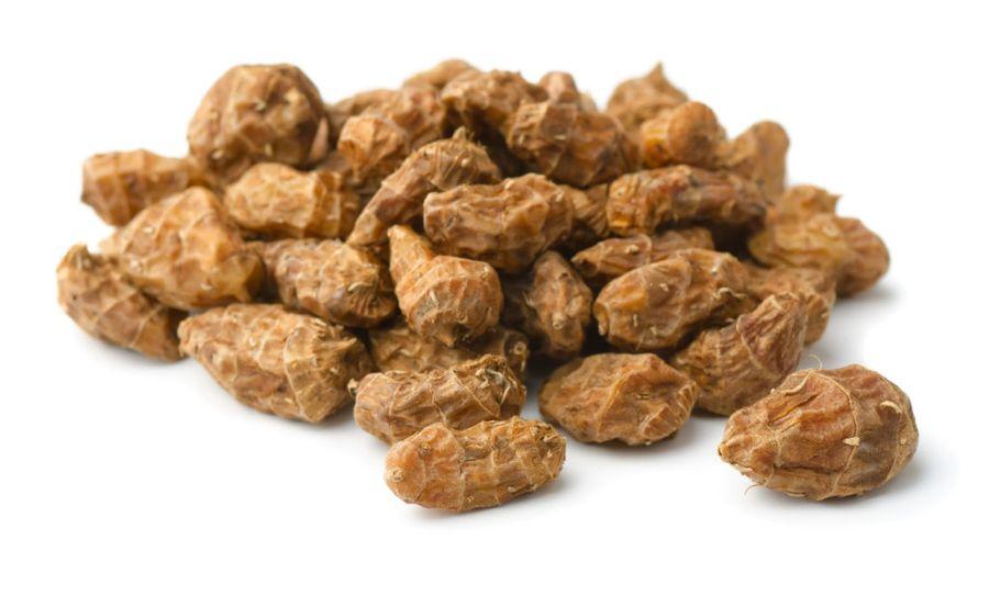 Клубни чуфы - мелкие, но очень питательные, сладкие и с ореховым привкусом