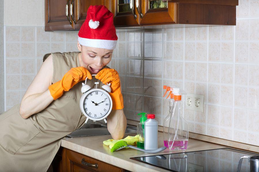 Генеральная уборка перед Новым годом - это своего рода домашний тайм-менеджмент наведения лоска в квартире