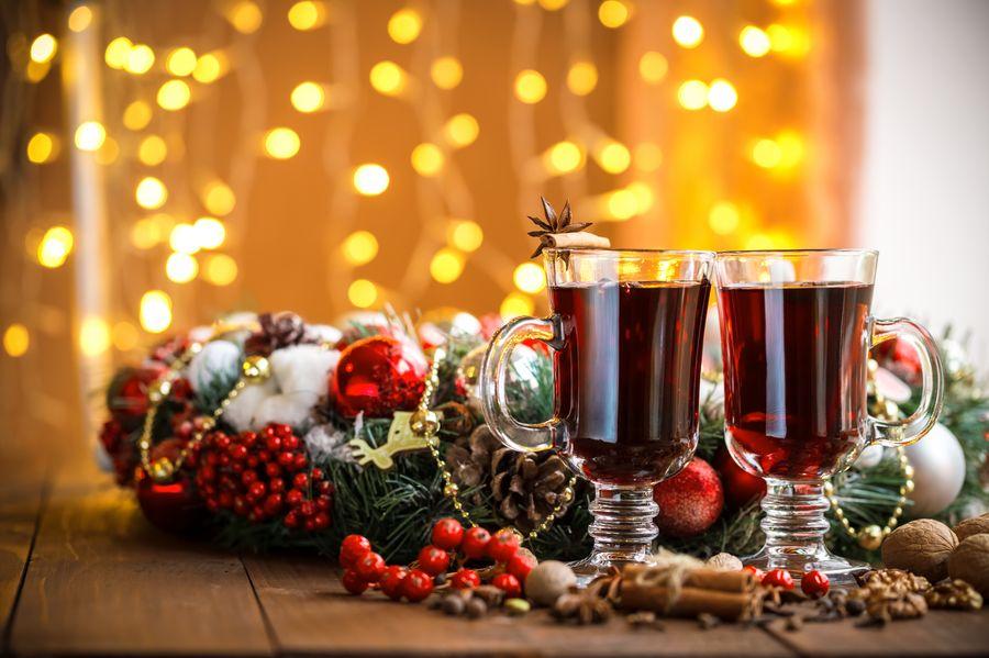 Глинтвейн - старинный рождественский алкогольный напиток