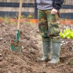 В апреле начинается основная работа по подготовке земли к посадкам