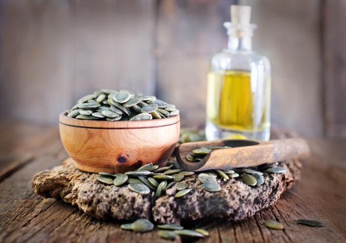 Лечебные свойства тыквенного масла известны в 17 веке