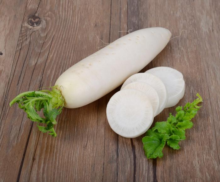 Дайкон в азиатских странах входит, как обязательный овощ для ежедневного употребления