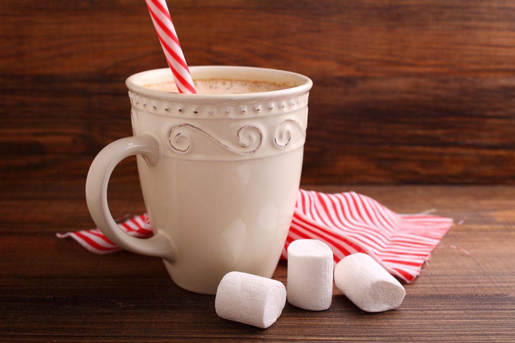 Чашка горячего напитка