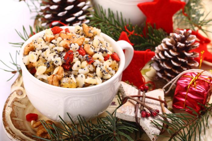 Кутья, Традиционное блюдо на Рождество