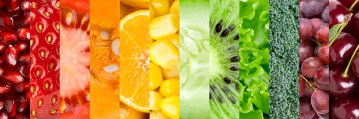 Фрукты, ягоды и овощи помогут восполнить недостающие витамины в организме