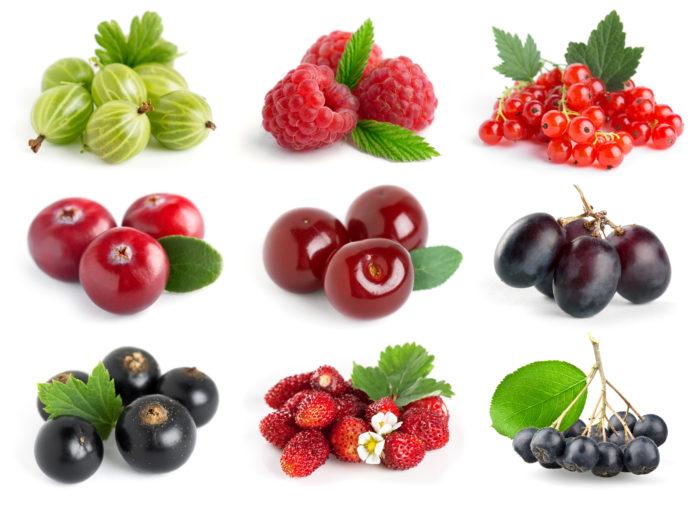 Ягоды богаты витамином С, который помогает сохранить эластичность кровеносных сосудов.