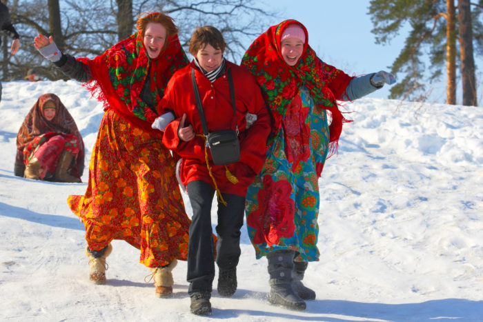 Традиционные зимние гуляния