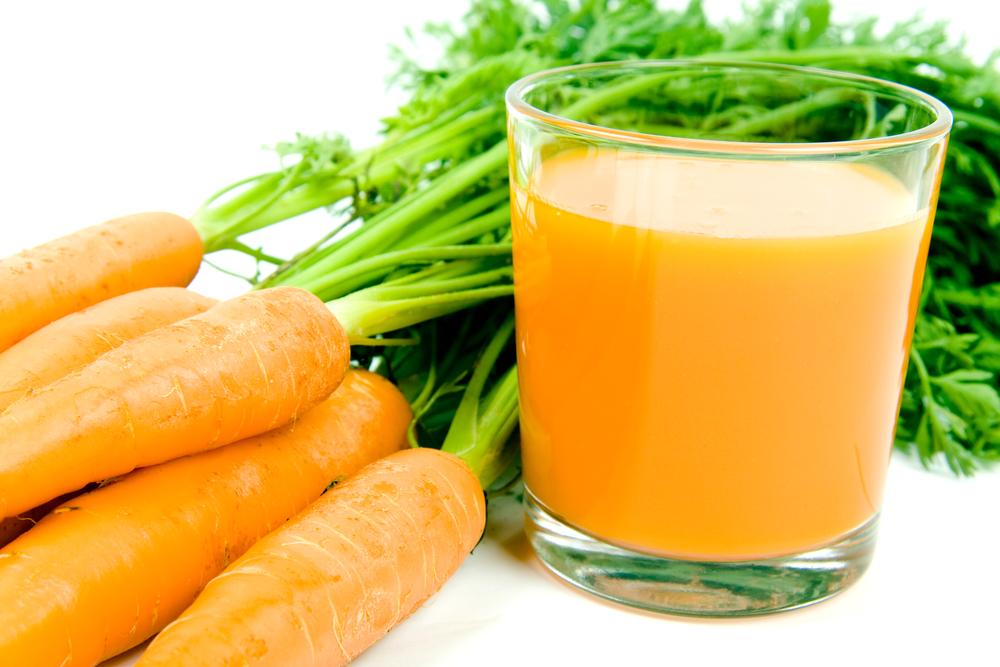 Морковный сок поможет вам сохранить зрение