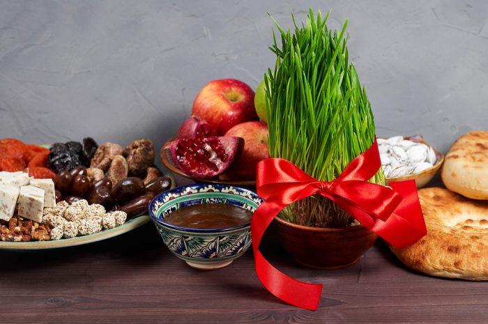 Традиционные угощения на Навруз