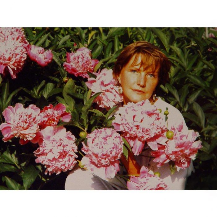 Елена Проклова и цветы