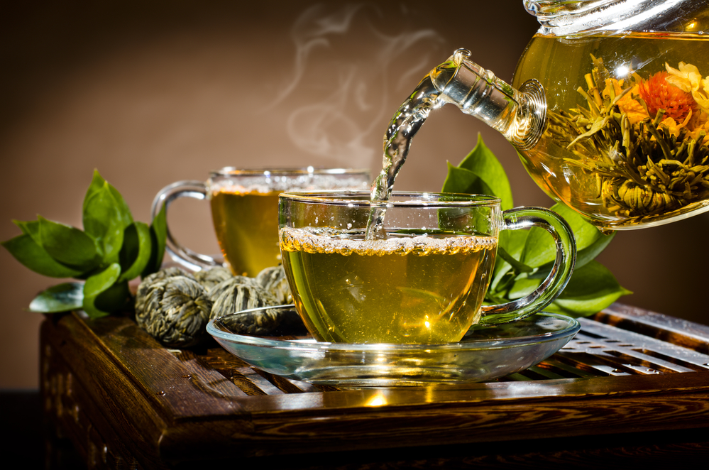 Находящийся в зелёном чае полифенол блокирует свободные радикалы