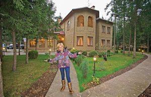 Дом Дарьи Донцовой