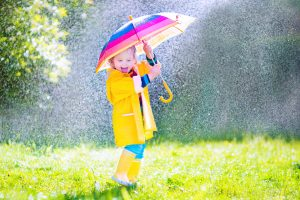 По приметам - дождик к хорошему настроению