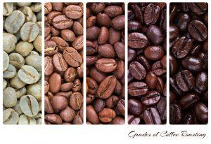 Этапы прожарки кофейных зерен