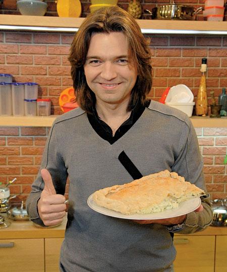 Дмитрий Маликов и сырный пирог