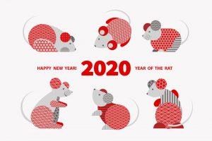 2020 год - год Крысы по китайскому календарю