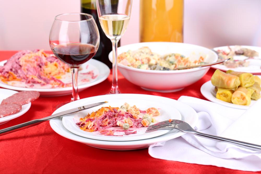 Любимые блюда всегда порадуют гостей в праздники