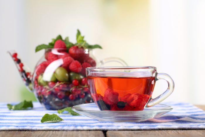 Чай из Ягода княженика имеет необыкновенный аромат и полезные свойства