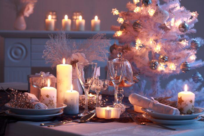 Новогодний стол, год Быка