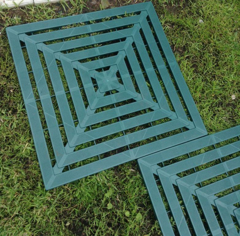 пластиковые садовые дорожки