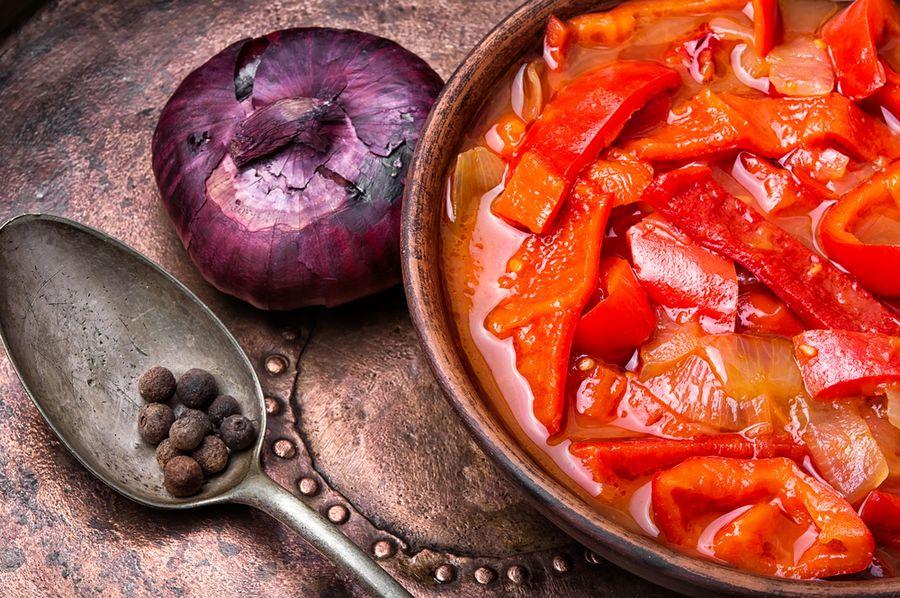 лечо из кабачков на зиму рецепты