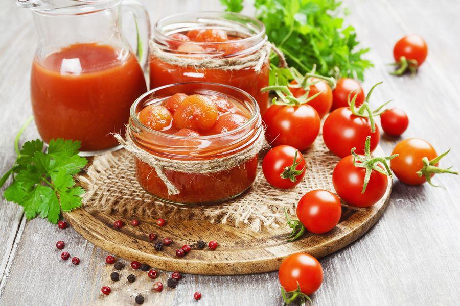 томаты в собственном соку рецепт
