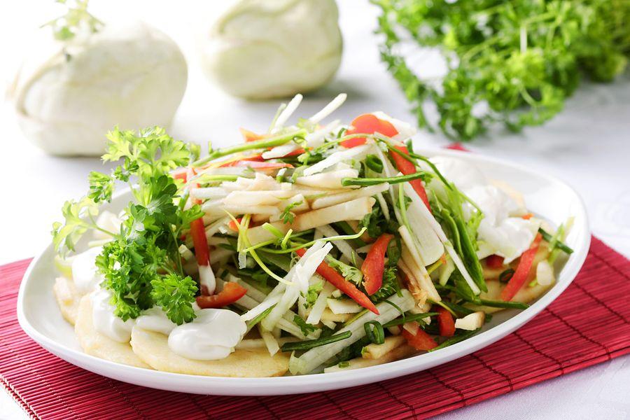 салат из кольраби рецепты