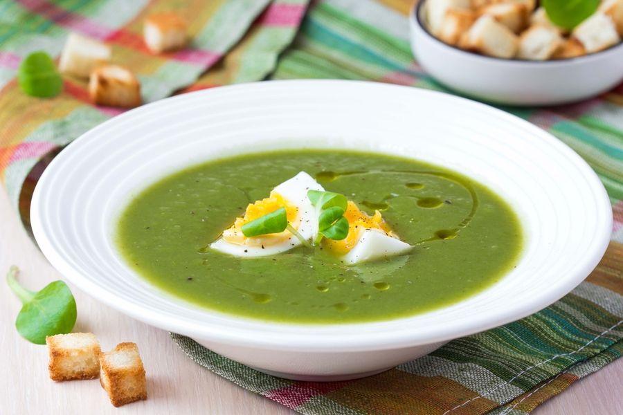 суп-пюре из брокколи рецепт