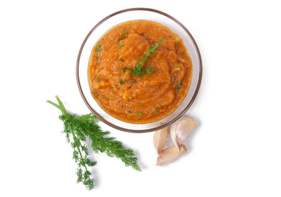 рецепт икры из помидоров и моркови