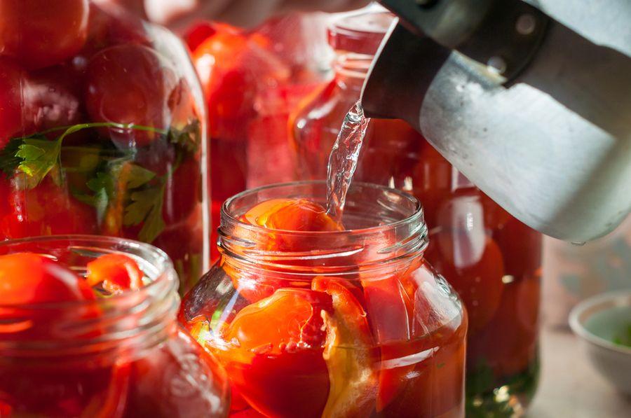 розовые помидоры на зиму