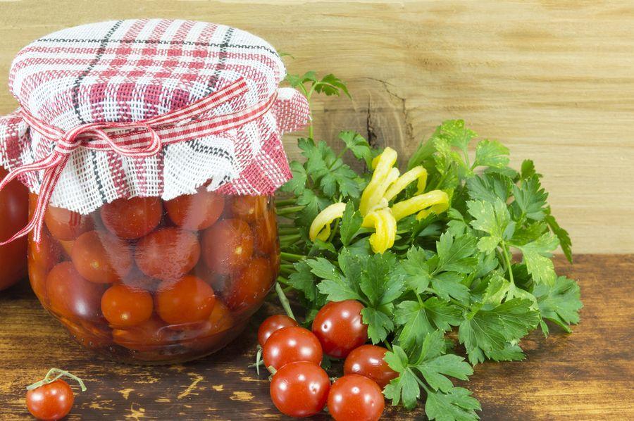 рецепт помидоров черри на зиму пальчики оближешь