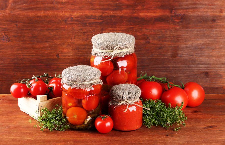 помидоры в желе на зиму рецепт